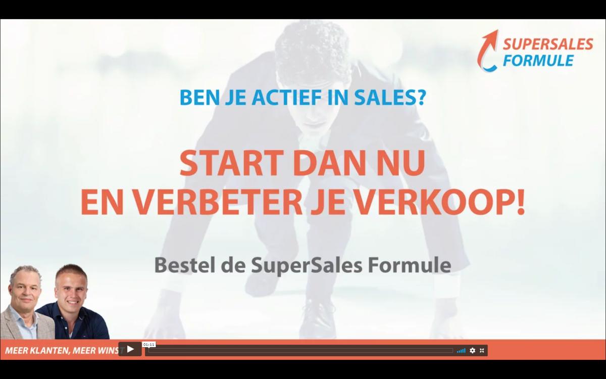 Bekijk de trailer op https://www.verkooptrainingonline.nl